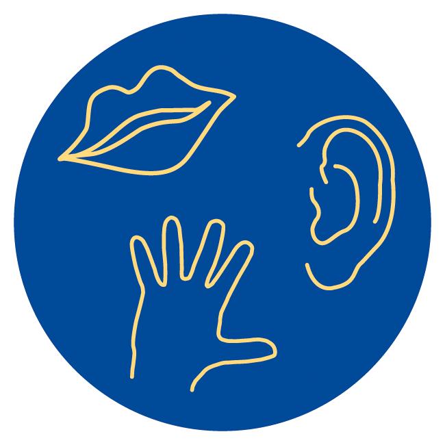 Logo Andersicht | Hörsicht - Tastsicht - Andersicht